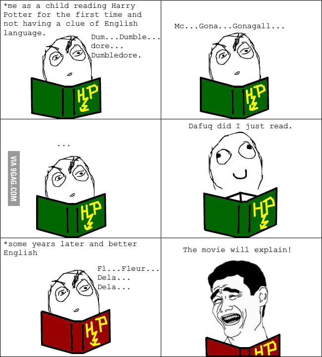 Harry Potter Characters: Name - Rage