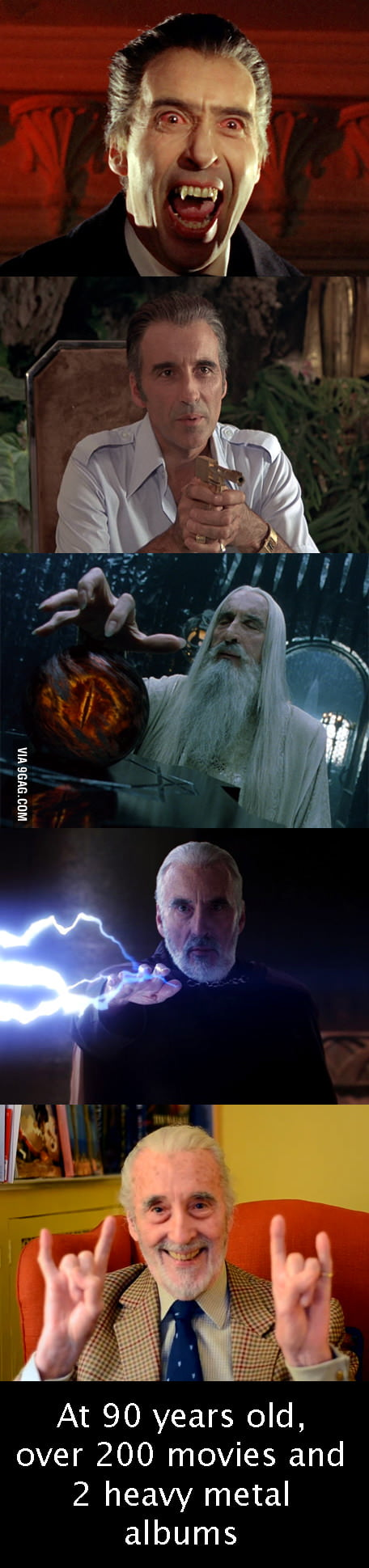 Sir Christopher Lee rocks!