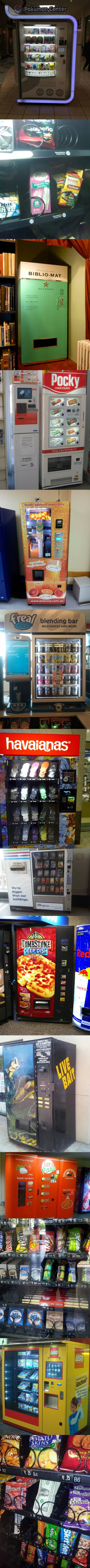 There's always a vending machine for that