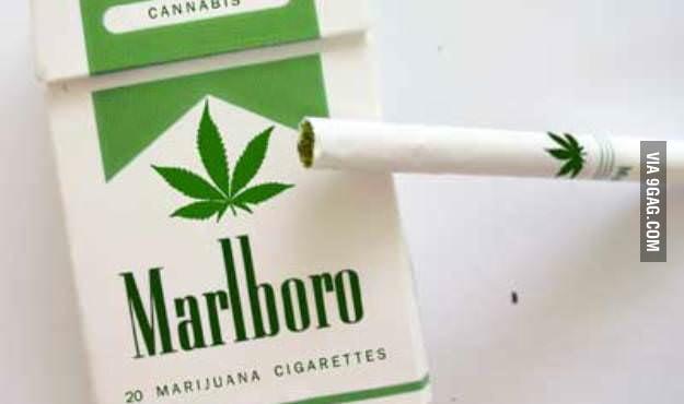 Marijuana Cigarettes