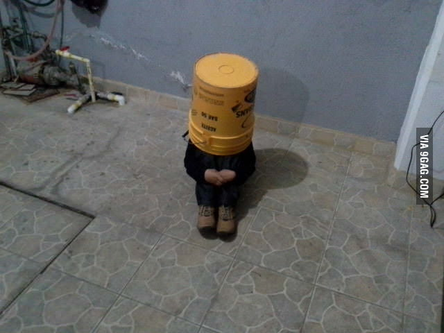 This is how I found my little cousin in a hide and seek game