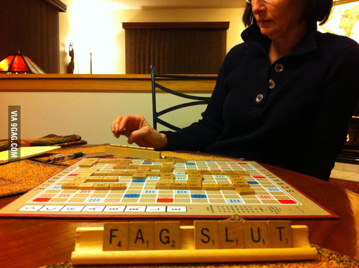 Only when playing Scrabble with Mum