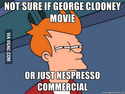 Does George Clooney still make movies at all?