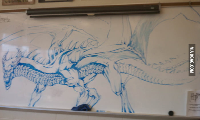 Funny Dry Erase Board Drawings i See Your White Board