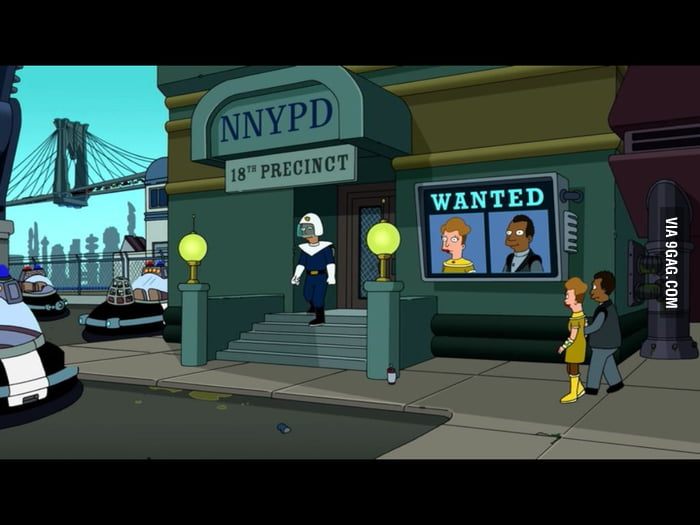 It's always the little things with Futurama.