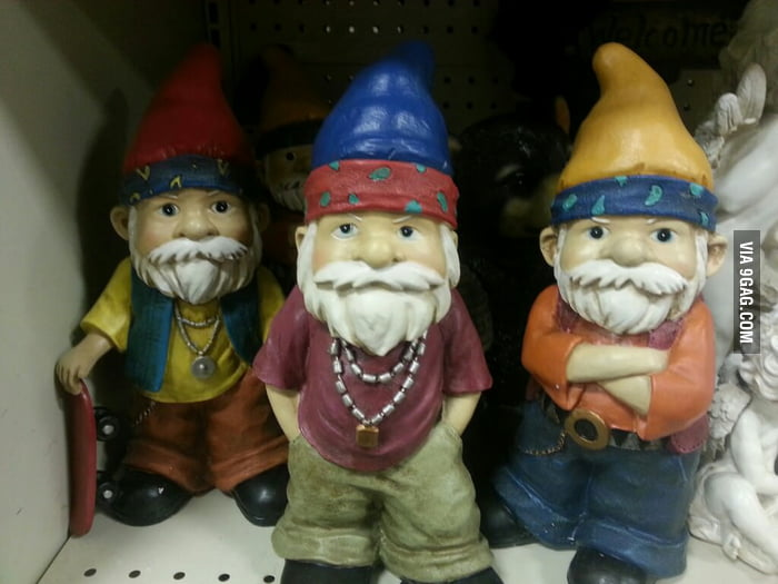 I didn't choose the gnome life, the gnome life chose me.