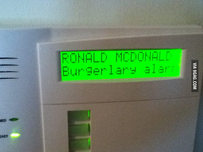 I see what you did there, Ronald McDonald House.