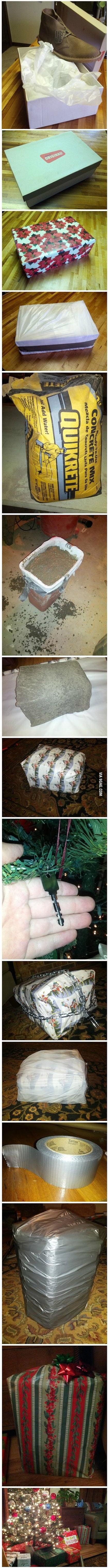 How to wrap a present?