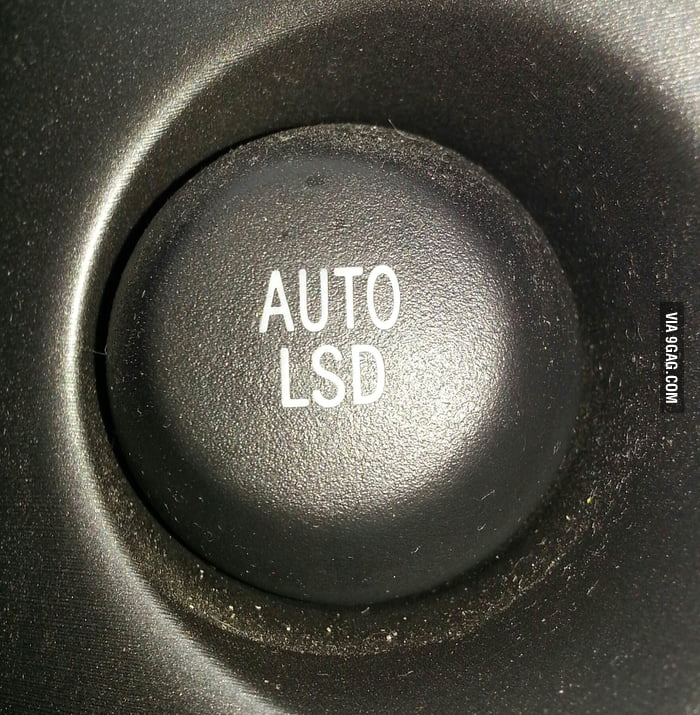 I'm a bit hesitant to push this button in my car.