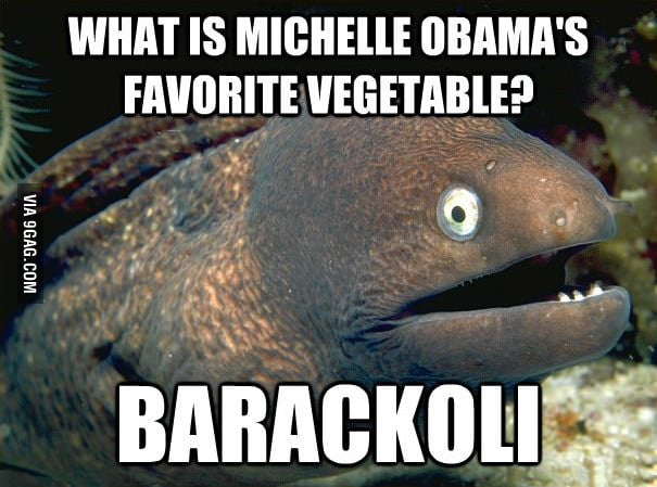 What is Michelle Obama's favorite vegetable?