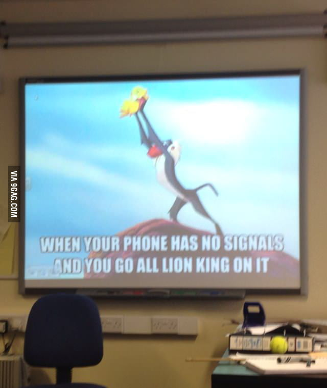 My physics teacher's presentation.