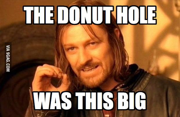 Boromir at Dunkin' Donuts