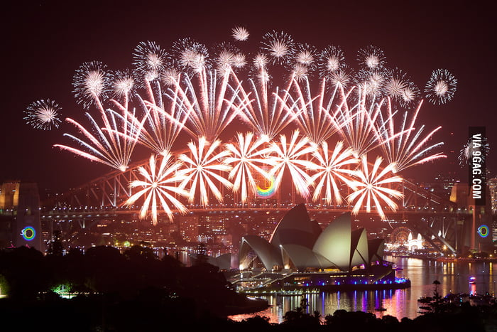 Happy New Year from Sydney, Australia.