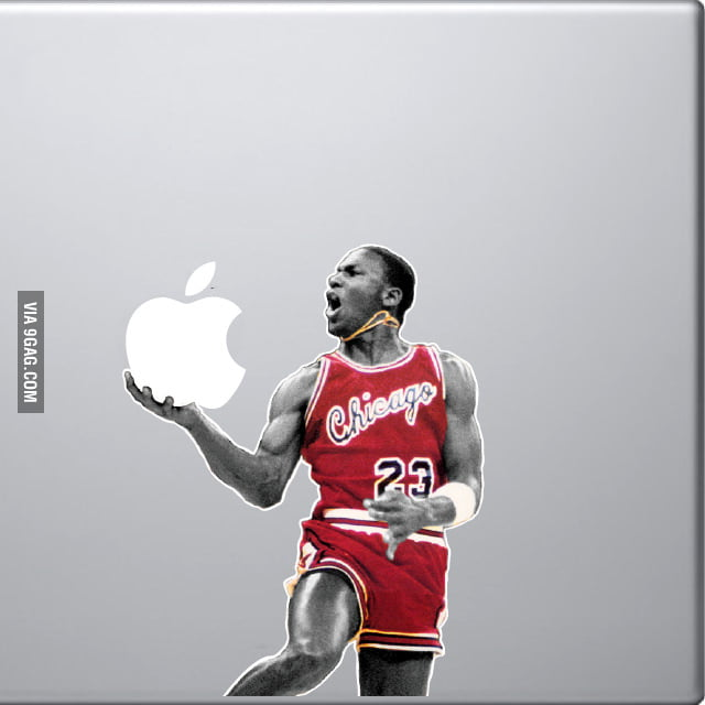 Michael Jordan MacBook Decal!