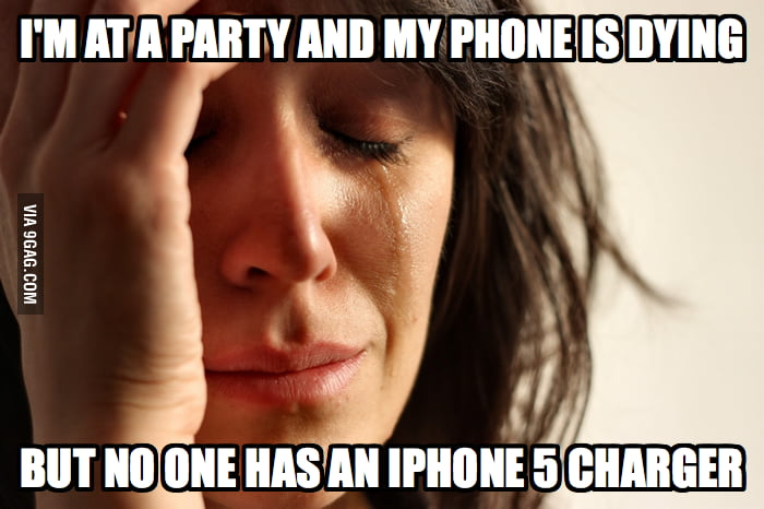 The worst part about having an iPhone 5.