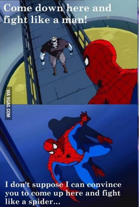 Spider-Man Logic
