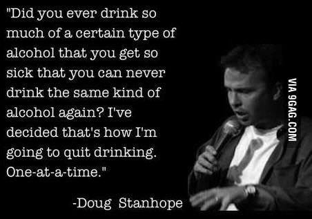 I'm on the right way to stop drinking!