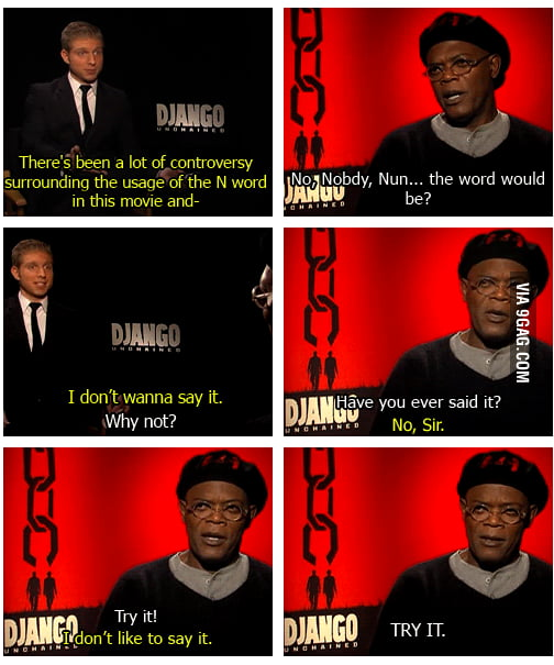Samuel Jackson the Troll