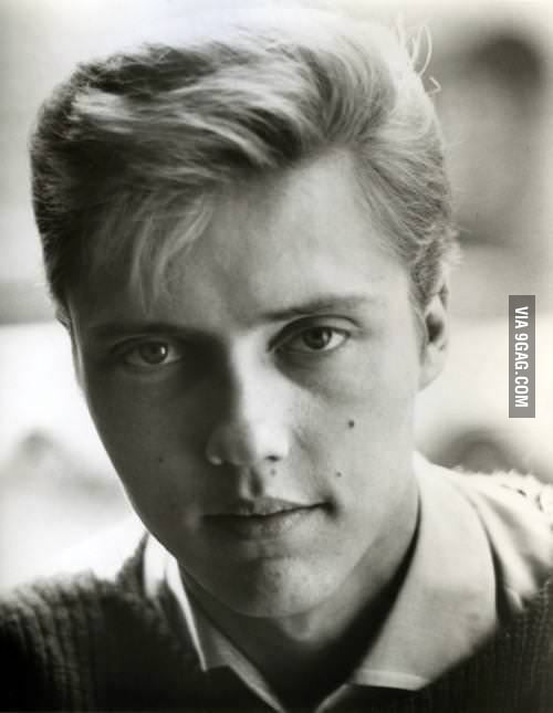 Rmb when Christopher Walken looked like Scarlett Johansson?