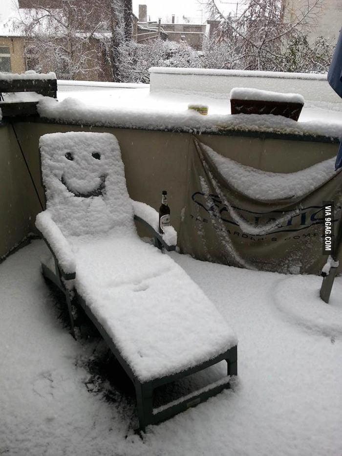 Just chillin'.
