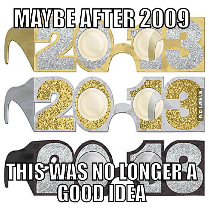 Maybe after 2009...