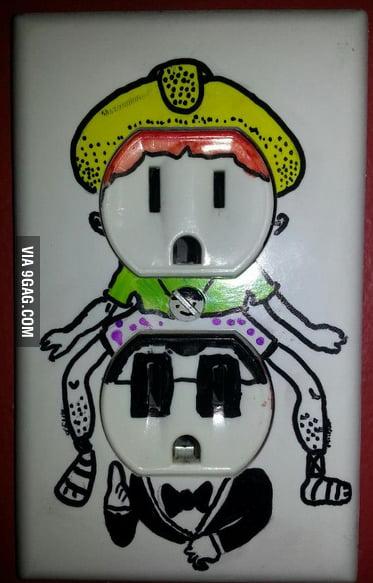 Sockets in Gangnam Style.