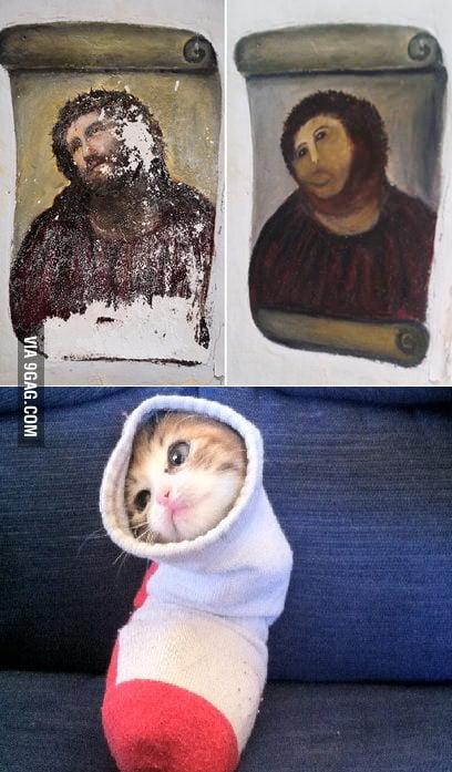 Jesus Cat!