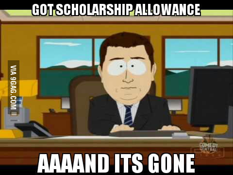 Scholarship allowance