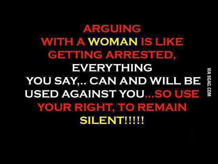 Use your right to remain silent!
