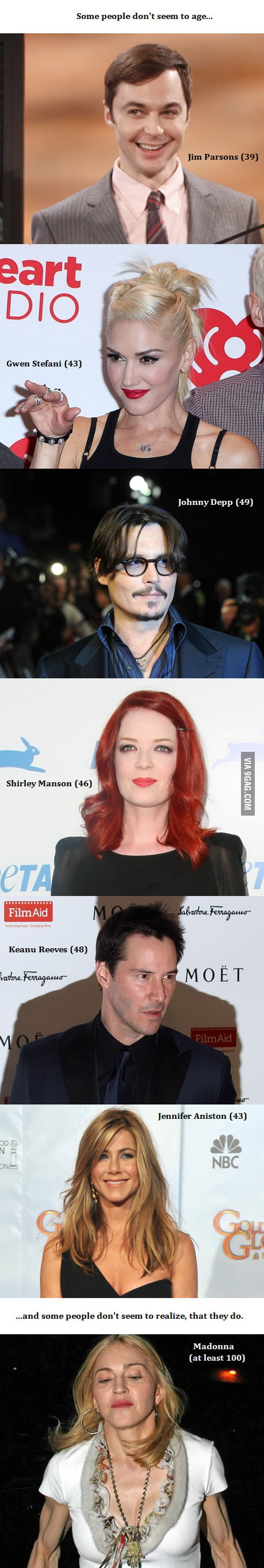 Some people don't seem to age