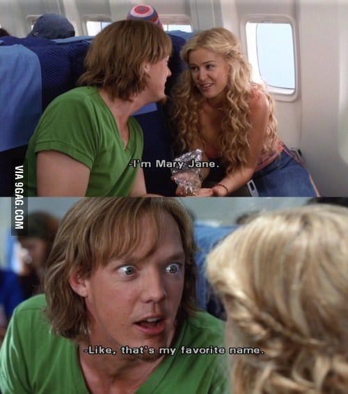 Oh you, Shaggy...