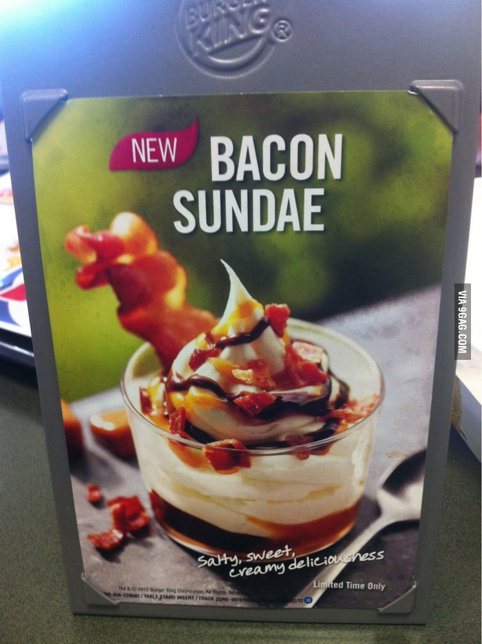 Dessert for bacon lovers!
