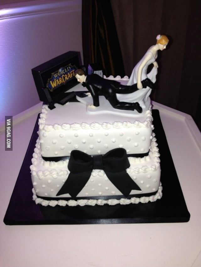 Gamer's Wedding Cake