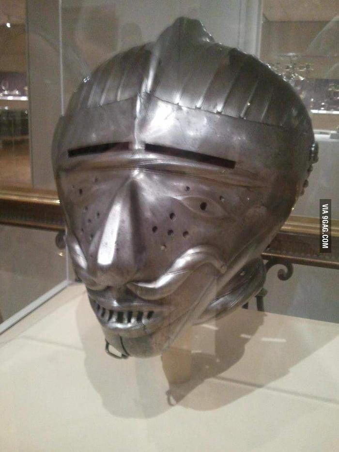 A Smashing Helmet