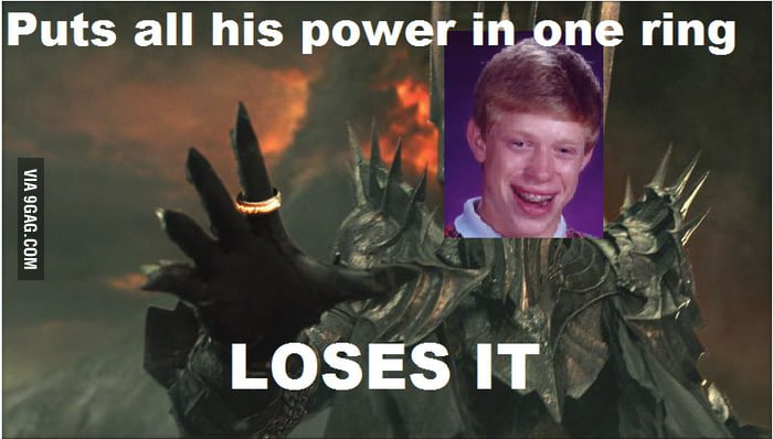 Bad Luck Sauron