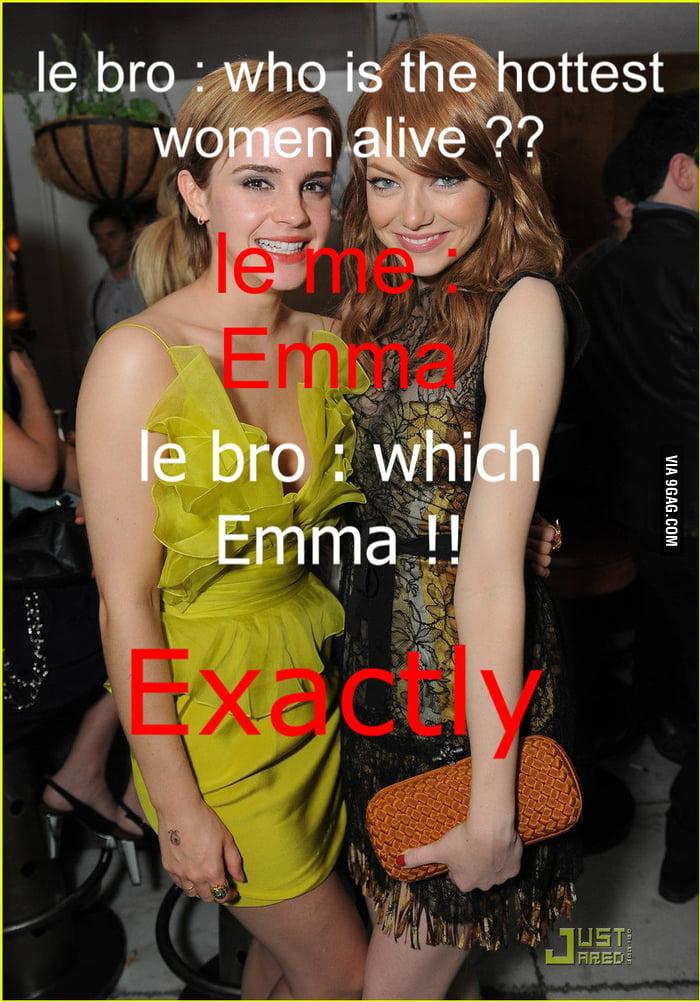 Emma Watson & Stone !!