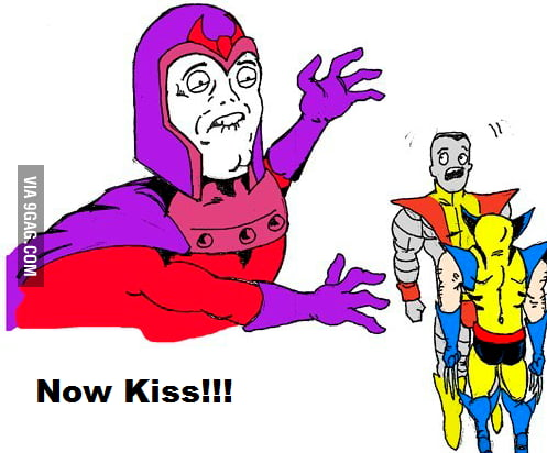 That's cruel Magneto