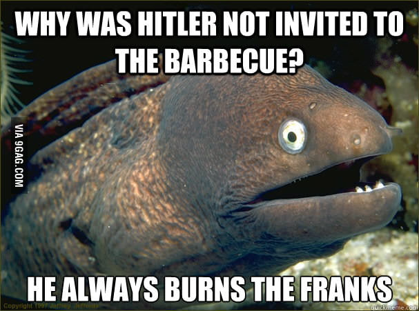 Why was Hitler not invited to the barbecue?