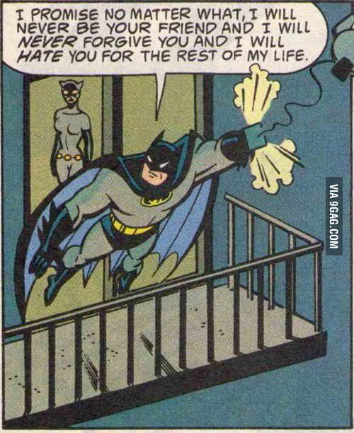 Back when Batman was a 12 year old girl