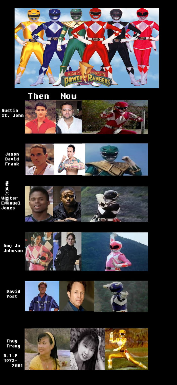 Oh Childhood. Power Rangers.