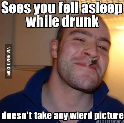 Good guy greg..