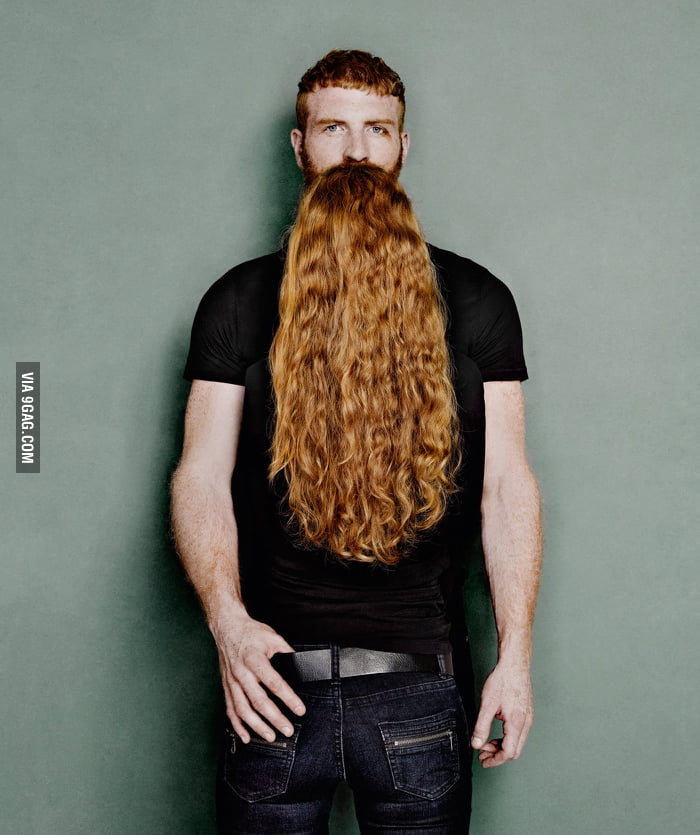 What a great beard... oh wait