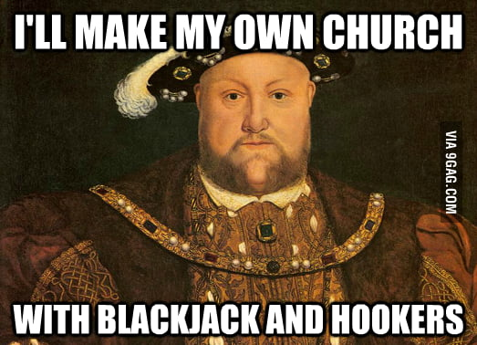 When Henry VIII couldn't get divorced...
