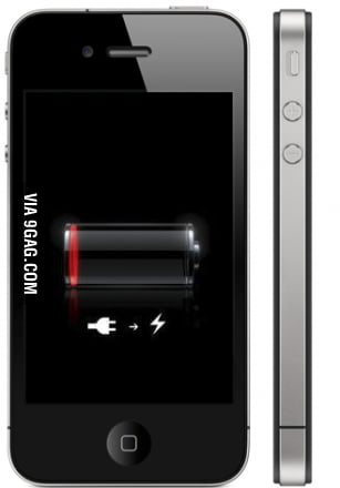 Ever wondered how the f**k it has battery to show you that?