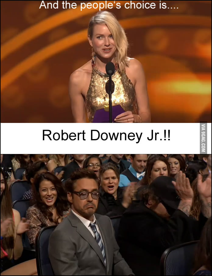 Not bad, Robert Downey Jr.