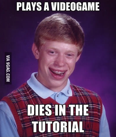 Bad Luck Brian on videogames