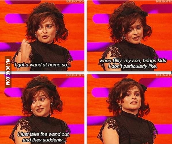Just Helena Bonham Carter