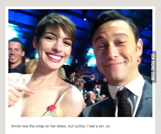Good Guy Joseph Gordon-Levitt.