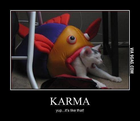 Karma...