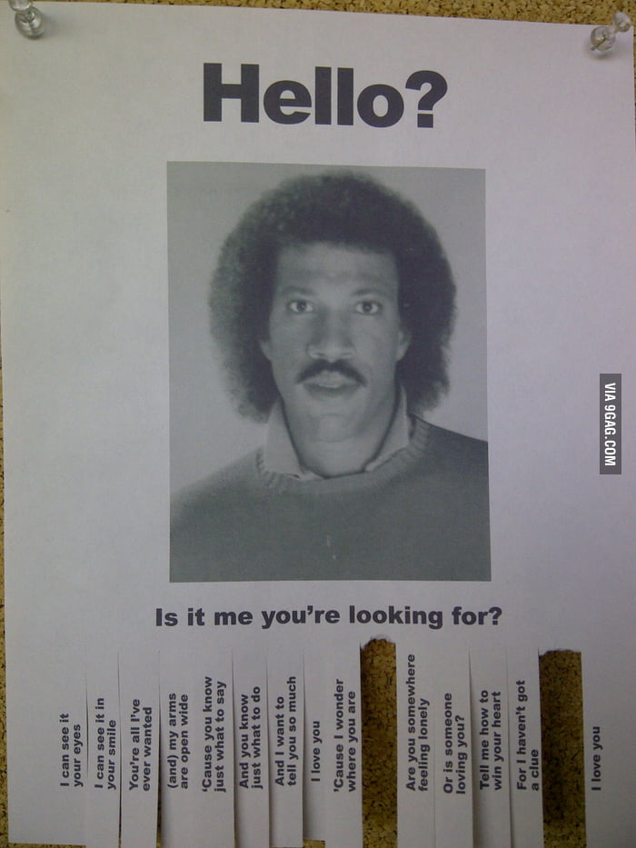 Met Lionel Richie at school today